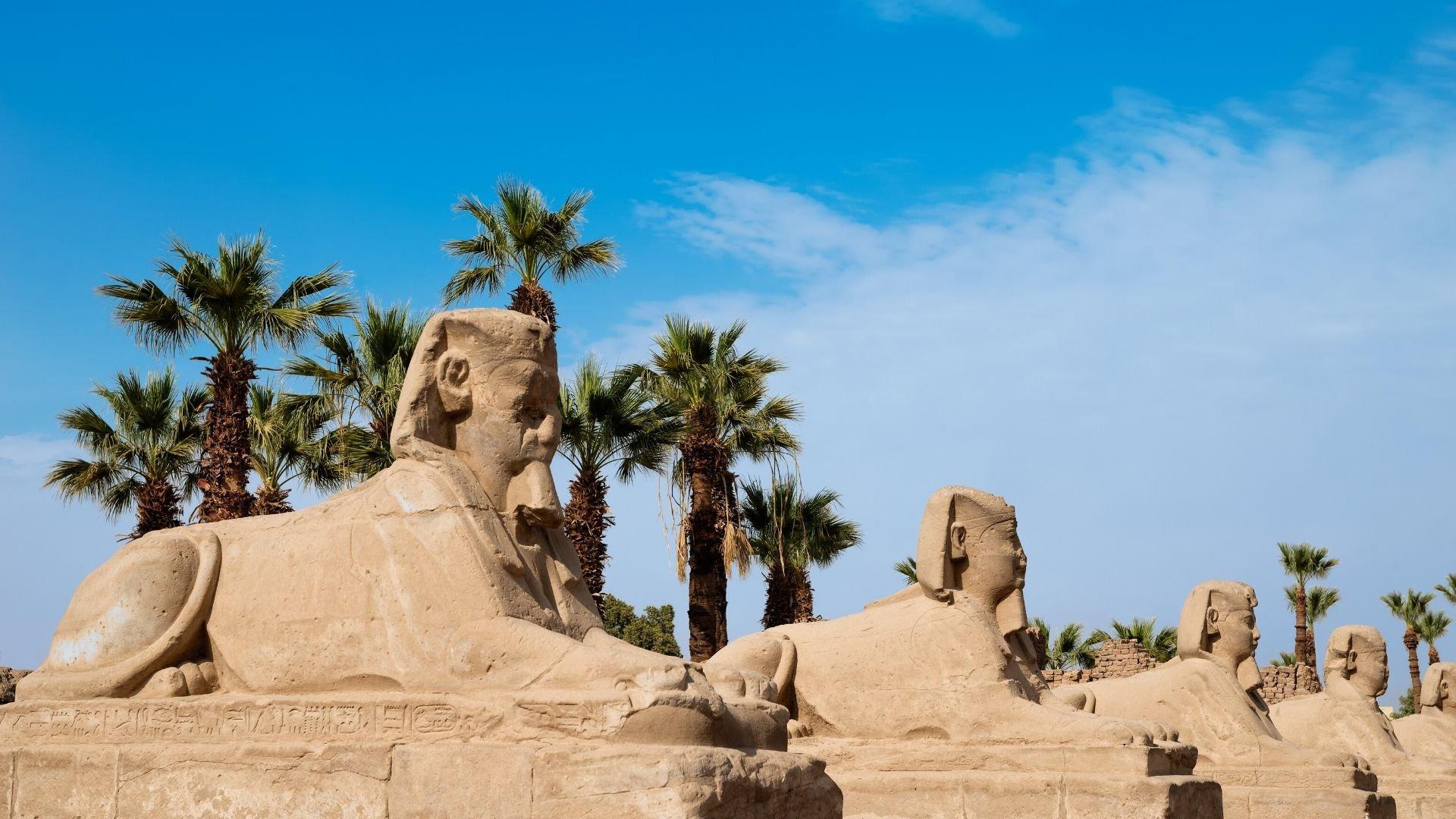 Okolí Luxoru – Údolí králů a Amonův chrám v Karnaku